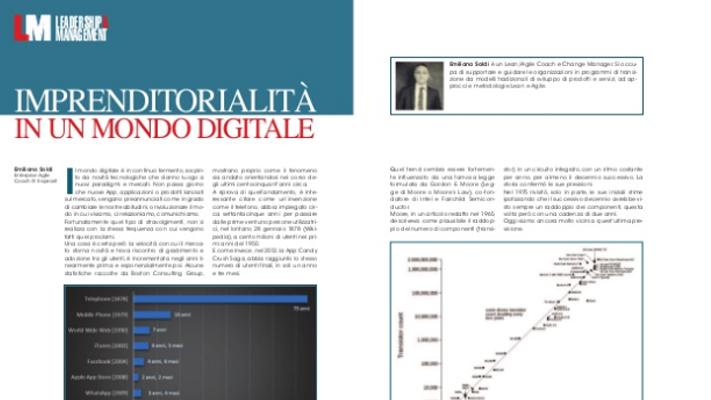 Entrepreneurship in the Digital World: innovazione e imprenditorialità digitale